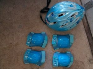 Kids Bicycle Helmet, Knee & Elbow Pads for Sale in Delaware, OH