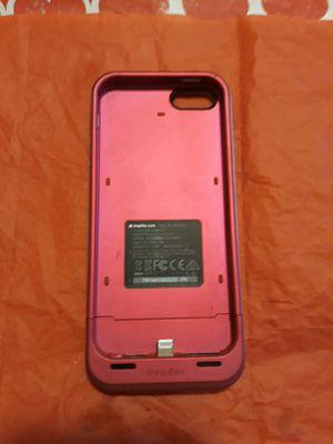 Funda para iphone 5 con cargador for Sale in Fresno, CA