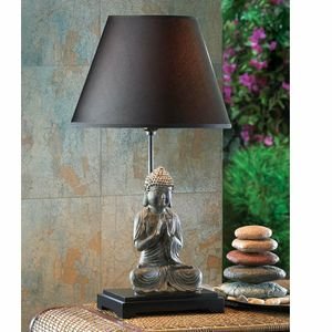 Dark Shade Buddha Table Lamp for Sale in Cleveland, OH