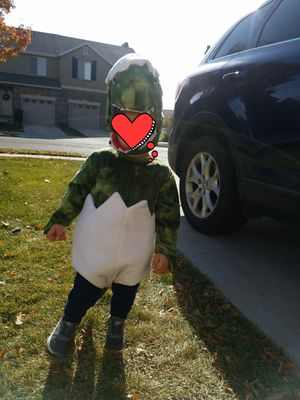 Baby Green Dinosaur Egg Costume for Sale in Riverton, UT