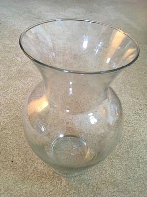 Glass Flower Vase for Sale in Chantilly, VA