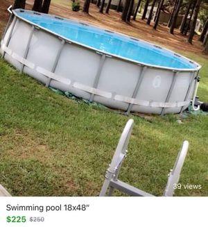"""18x48"""" swimming pool for Sale in Cochran, GA"""