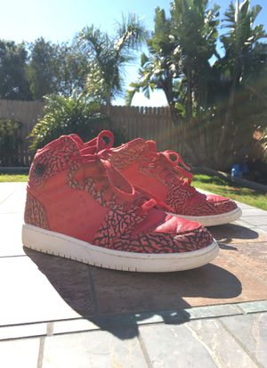 Air Jordan 1 retro high red elephant for Sale in Oxnard, CA