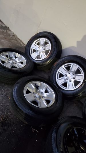 "17"" Chevy wheels for Sale in Dallas, TX"