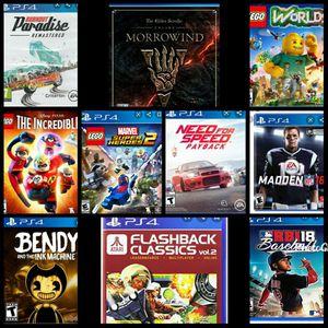 PS4 GAMES for Sale in Pomona, CA