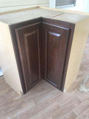 Cognac Corner Cabinet- Lazy Susan for Sale for sale  Riverdale, GA