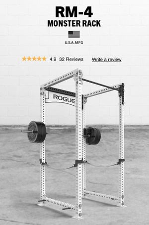 Rogue Fitness RM-4 rack for Sale in Oxnard, CA