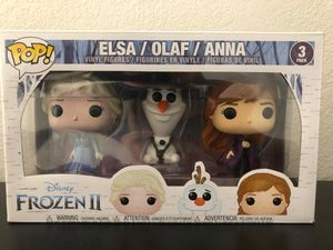 Funko Pop - 3 Pack - Elsa / Olaf / Anna for Sale in Gilbert, AZ
