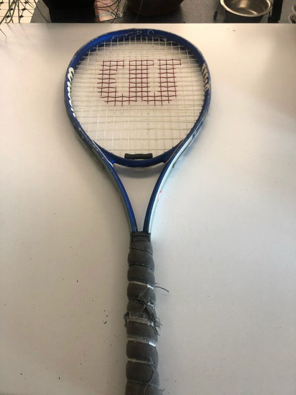 9 tennis rackets , 3 with matching carry cases