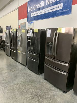 SAMSUNG Black Stainless two zone Control Refrigerator for Sale in Corona, CA
