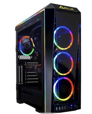 CLX - Gaming Desktop- Intel Core i9-9900K - 16GB Memory - LIQUID COOLING NVIDIA GeForce RTX 2080 - 3TB HDD + 960GB SSD for Sale in Cedar Rapids, IA