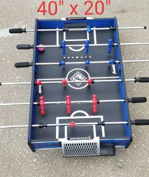 "Foosball table top game board fun kids foos ball soccer football Franklin 40"" x 20"" for Sale in Orlando, FL"