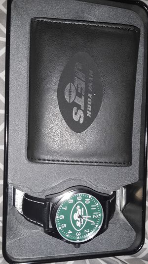 Brand new new York jets watch and wallet for Sale in Kissimmee, FL