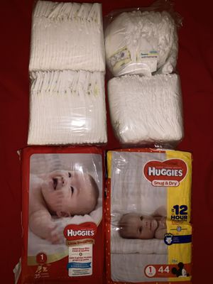 Huggies and Pampers for Sale in Anaheim, CA