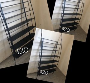 Strong metal shelves $20 each / FREE shipping for Sale in Madison Heights, MI