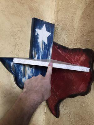 Texas state corner shelf handmade for Sale in Burkburnett, TX