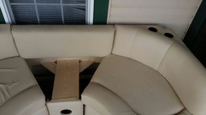 Leather couch out of motor home for Sale in Denison, TX