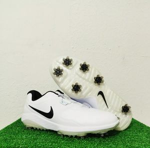 Nike Vapor Pro BOA White Black Golf Shoes Cleats AQ1790-100 Men's Size 8 for Sale in North Lauderdale, FL