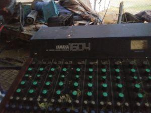 Yamaha mixing board for Sale in Mesa, AZ