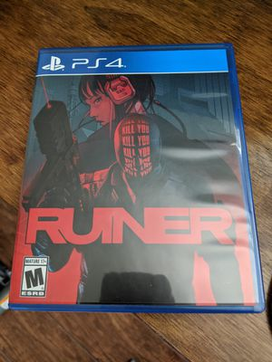 Ruiner PS4 physical copy - like new for Sale in Dallas, TX
