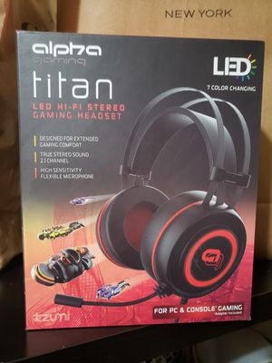 Alpha Gaming Headset for Sale in Huntington Park, CA