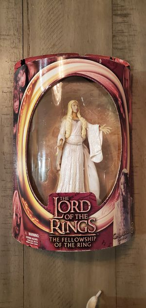 Lord of the Rings Galadriel Lady of Light Figure Fellowship New Toy Biz 2002. for Sale in North Las Vegas, NV