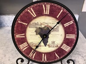 """Chateau Canet Stylish 10"""" Tabletop Clock for Sale in Goodlettsville, TN"""