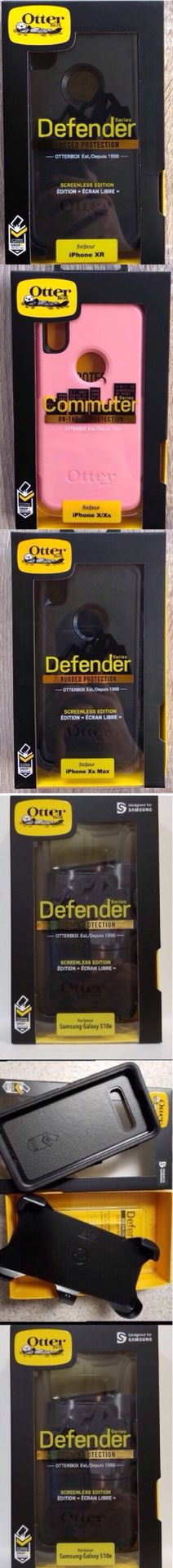 OtterBox Defender series Case brand new otter box fits Samsung Galaxy - S9 - S10 E plus + Edge - 8 - 9 & IPhone 6 -7 - 8 - plus - X -XR-Xs Max for Sale in Whittier, CA