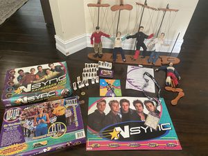 NSYNC dolls and games for Sale in Seffner, FL