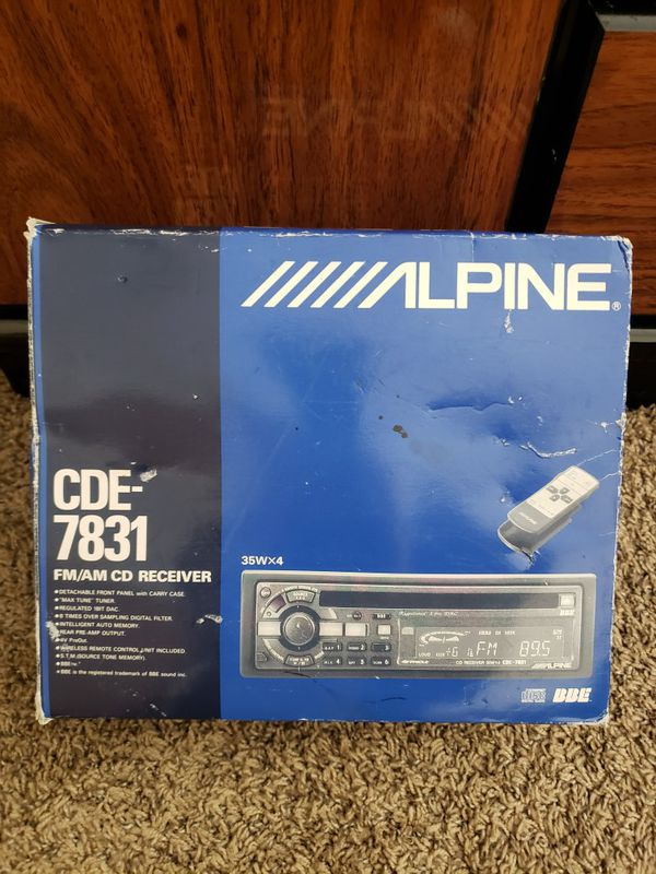 Alpine CDE - 7831 rare find for Sale in Fridley, MN - OfferUp on