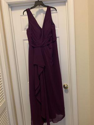 Purple bridesmaid dress for Sale in Fairfax, VA