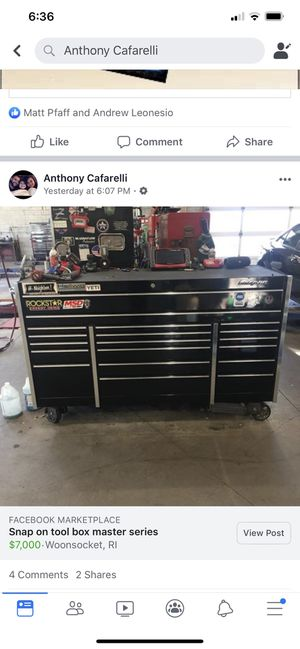 Snap on master series for Sale in East Douglas, MA