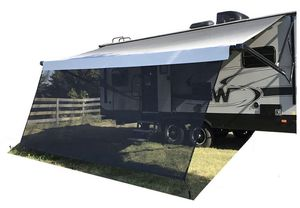 *NEW* Tentproinc RV Awning Sun Shade 9' X 20' 3'' Black Sunshade Complete Kit Mesh Screen Sunblocker for Sale in Chula Vista, CA