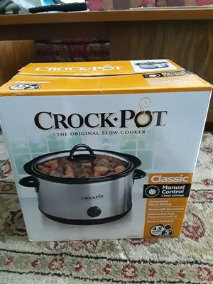 Crock Pot- slow cooker for Sale in La Habra Heights, CA