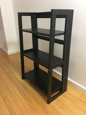 2 Foldable Black Bookshelves from Pier 1 for Sale in New York, NY