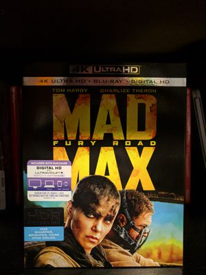 Mad Max: Fury Road 4K/Blu-ray (Code Used) for Sale in Chicago, IL