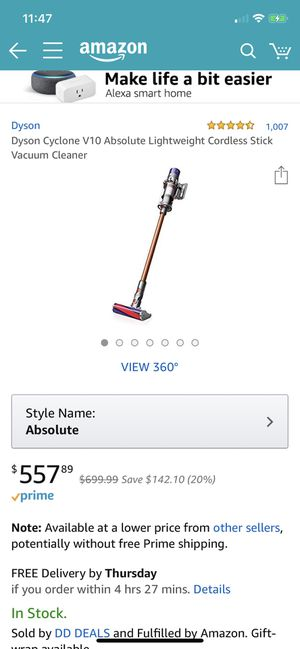 Dyson Cyclone V10 Absolute for Sale in Houston, TX