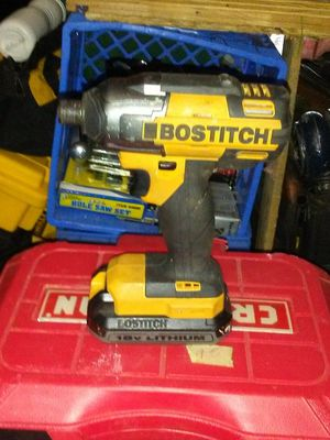 Impact drill 20 volt battery and charger for Sale in Winchester, KY