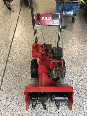 Snow Blower - Toro 421 for Sale in Oak Lawn, IL