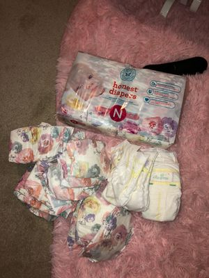 Newborn diapers for Sale in Saugus, MA
