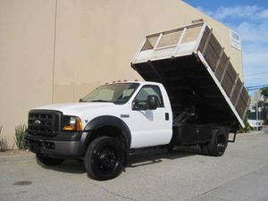 2006 Ford F450 Dump Truck 12' Flatbed ONLY 85kMILES! F-450 F550 Dump Bed for Sale in Long Beach, CA