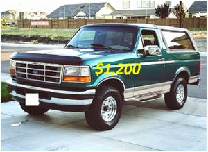 ($12OO)🍁FOR SALE 1996 Ford Bronco for Sale in Washington, DC