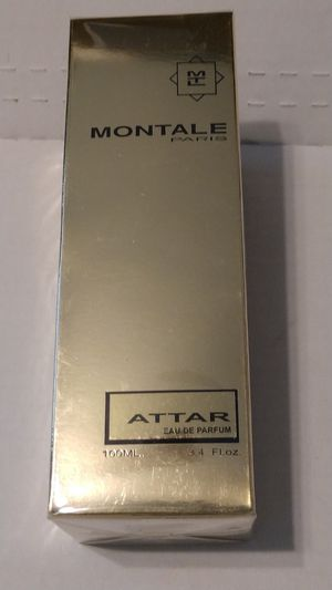 "FIRM $64.00 ""MONTALE ATTAR UNISEX, 3.4 oz. for Sale in Manor, TX"