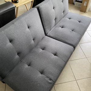 Multi Adjustable Futon Style Sofa Sleeper for Sale in Canyon Country, CA