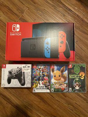 Nintendo Switch Bundle for Sale in Fresno, CA