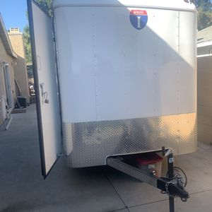 Box Trailer With Ramp for Sale in Ontario, CA