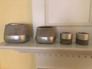 CANDLE HOLDERS 4 for Sale in Falls Church, VA