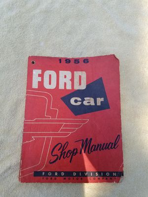 1956 Ford/Thunderbird Car Shop Manual $10 for Sale in Madison, WI