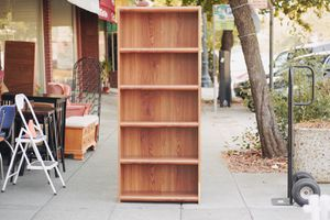 "#100193, 94, 94, 96, 97, 98 Walnut Effect Veneer Bookshelves 30"" x 12"" Deep x 6' Tall (We Have 6) for Sale in Oakland, CA"
