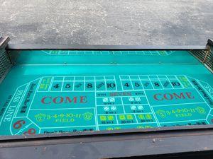 Casino Craps Table #2 For Sale for Sale in Brandon, FL